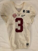 Calvin Ridley Authentic Game Used 2016 National Championship Uniform JSA LOA