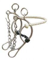 "Wesern Saddle Horse Barrel Racing Rodeo Combination Twisted Snaffle Bit 5.5"" mou"