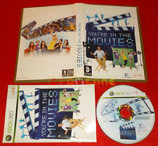 YOU'RE IN THE MOVIES XBOX 360 (are) Versione Italiana 1ª Edizione ○ USATO - FG