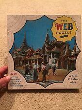 Vintage Fairchild The Web Puzzle Pagoda Burma #520 650 pieces New NIB