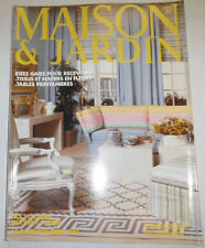 Maison & Jardin French Magazine Idees Gaies Pour Recevoir May 1982 #283 101414R1