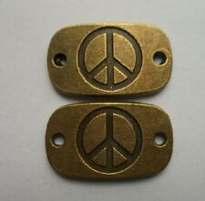 6pcs copper plating is suitable for the bracelet and the peace of the connector