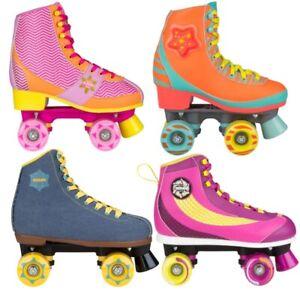 Rollschuhe Roller Skates Damen-Rollschuhe Kinder Dicoroller Rollerskates Skates