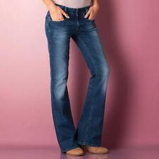 Diesel Damen-Bootcut-Jeans niedriger Hosengröße W30 (en)