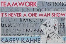 """2015 KASEY KAHNE """"FARMERS INSURANCE TEAMWORK"""" #5 NASCAR SPRINT CUP POSTCARD"""