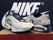 Vintage 1996 Nike Air Max Triax Cuero UK10 EU45 96 og 1 90 BW 180 95 96 98 Tn Raro