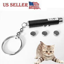 Laser Pointer Pen Bright Red Led Power Point Flashlight for Cat Dog Pet Toy