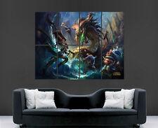 League of legends poster wall art lol jeu image giant print photo