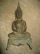 Perfect! Antique Big Phra Sam-Kha Ayutaya Statue Rare Ancient Buddha Amulet Thai