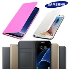 Slim Luxury Leather PU Phone Card Wallet / Flip Case Cover For Samsung Galaxy