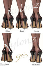 Gio Fully Fashioned Stockings - All Sizes, Colours & Heels - Imperfects NYLONZ