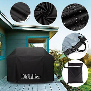 Extra Large Mobility Scooter Wheelchair Waterproof Storage Sun Rain Cover Black