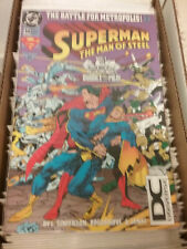 DC Superman The Man Of Steel #34 The Battle For Metropolis!