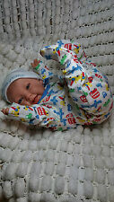 SUNBEAMBABIES BLUE EYED HAPPY, VEINED CHILDS LIFELIKE REBORN FAKE BABY BOY DOLL