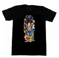 JEFF GROSSO Shirt 98 Toybox Tshirt Vintage Skateboard Schmitt Stix Lucero RIP