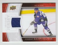 (55999) 2013-14 UPPER DECK GAME JERSEY VINCENT DAMPHOUSSE #GJ-VD