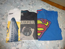 Boy's, set of 3 T-shirts, size 11 to 12 year old