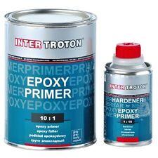 INTER TROTON 2K EPOXY PRIMER GRUNDIERUNG 10:1 FÜLLER Epoxidharz 1,1kg + HÄRTER