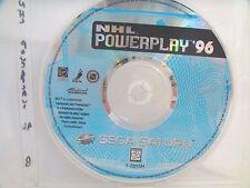 NHL Powerplay '96 - Sega Saturn - Disc only