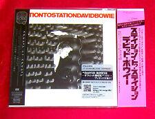David Bowie Station To Station MINI LP CD + PROMO OBI JAPAN TOCP-70149