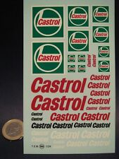 DECALS 1/24  NEW CASTROL -  T166