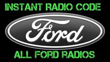 Ford V & M Series Radio Code Service Focus Mondeo Fiesta Transit Connect Max