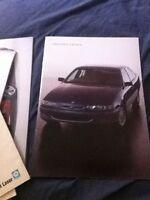 1990s GMH Holden Calais Color Brochure Catalog Prospekt
