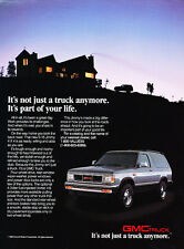 1989 GMC Truck S-15 Jimmy - Classic Vintage Advertisement Ad PE96