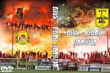 DVD ARIS - PAOK 2009/2010 (SUPER 3,ULTRAS,SALONIKI,BULLDOG,THESSALONIKI)