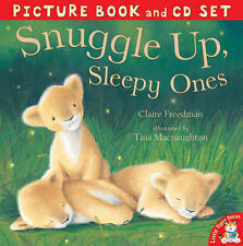 Snuggle Up, Sleepy Ones by Claire Freedman Picture Book & CD Set NEW NEW