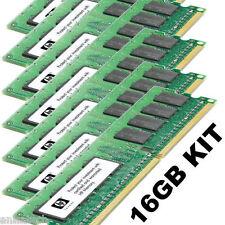 GENUINE 16GB Upgrade kit for HP XW8200 Workstation 4x 2GB Single & 4x 2GB DUAL