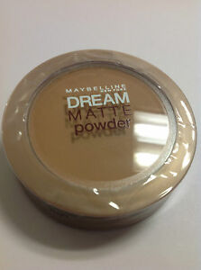 Maybelline Dream Matte Powder Latte (Dark 0-1) NEW