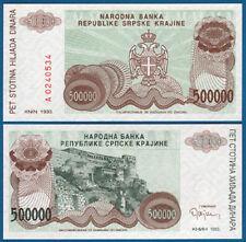 Croatia/krajina 500.000 dinara 1993 UNC p. r23