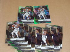 2016/17 Panini Prizm GREG MONROE LOT OF 10 BUCKS STARBURST GREEN REFRACTOR