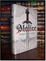 Malice ✎SIGNED✎ by JOHN GWYNNE Rare Limited Hardback 1st Edition & Print 1/500
