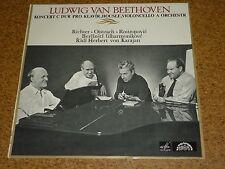 LP Vinyl Karajan Richter Oistrach Rostropovic Tripelkonzert Beethoven Supraphon