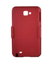 Reiko Samsung Galaxy Note N7000 (I9220) Hybrid Heavy Duty Holster Combo Case Red