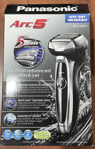 Panasonic - Arc5 Wet/Dry Electric Shaver - Silver Model:ES-LV65-S