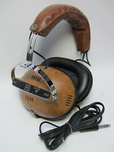 Vintage Toshiba 4 Channel Stereo Headphones Quadrophonic HR-40 ((VERY RARE))