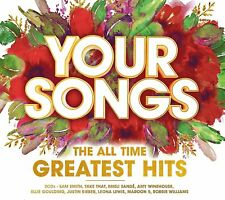 Your Songs Greatest Hits 3CD. Ariana Grande,Coldplay,Bastille,Katy Perry + More