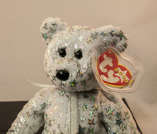 """TY""""The Beginning"""" Beanie Baby, Mint, Rare,Retired, DOB 1/1/2000 Tag Marked,New"""