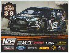 2016 Brian Deegan Nos Energy Ford Fiesta Global RallyCross GRC B/B postcard