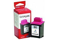 Cartucho de tinta Lexmark Nº 80 Color ORIGINAL - GENUINE