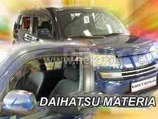 HEKO saute vent DAIHATSU MATERIA à partir de 2006 5 porte 4-tlg Déflecteurs 13215