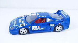 1:18--BBURAGO--Ferrari F40 #56 IGOL  / 20 A 055