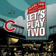 PEARL JAM ‎– LET'S PLAY TWO LIVE WRIGLEY FIELD HARDBACK COVER CD (NEW/SEALED)