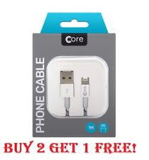 Boxed USB Lightning Fast Charge Data Cable Lead For Apple iPhone 5 5s 5c 6 7