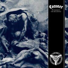 CORONER - PUNISHMENT FOR DECADENCE   VINYL LP NEU
