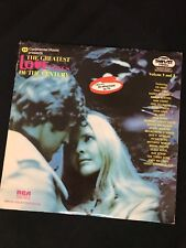 """VARIOUS ARTISTS  """"Greatest Love Songs Of The Century""""  Volumes 3&4 2LP's"""