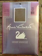 Gloria Vanderbilt Daysheer Pantyhose Sandalfoot Beige Size B